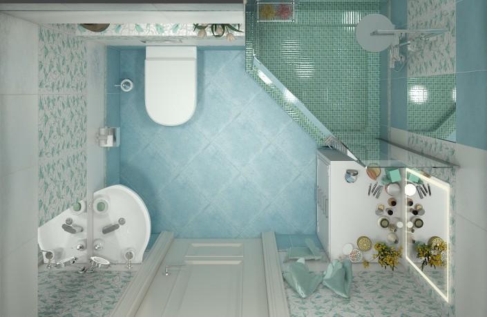 Совмещать санузел с ванной комнатой разрешено