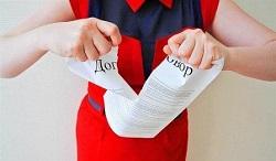 Для расторжения договора дарения одного желания дарителя мало, необходимы основания